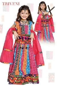 Triveni Girls Cotton Chaniya Choli