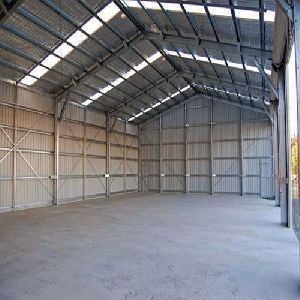 Industrial Roofing Shed