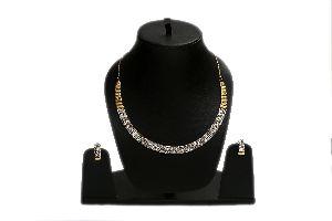 AD Choker Necklace Set