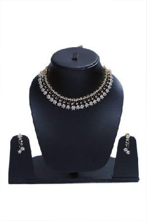 AD Star Drop Necklace Set