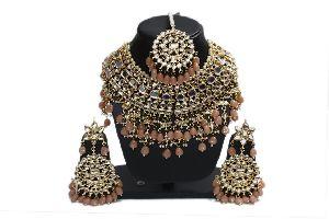 Kundan Pastel Necklace Set