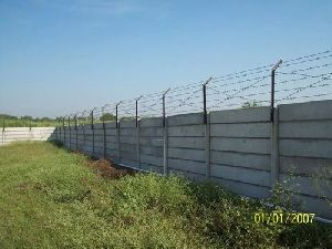 Precast Concrete Security Wall
