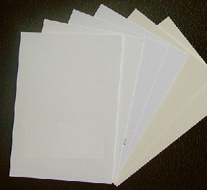 White Matt Paper