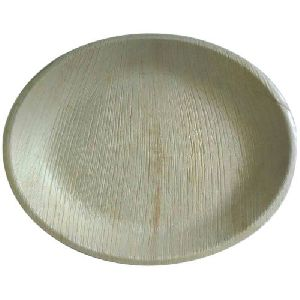 Areca Leaf Shallow Plate