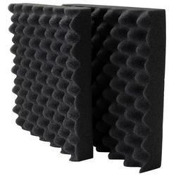 Black Sheela PU Foam for Engine Testing Room