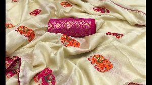 Rapier Work Saree Fabric