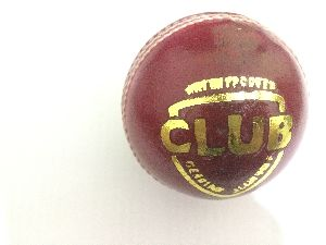Club Leather Cricket Ball