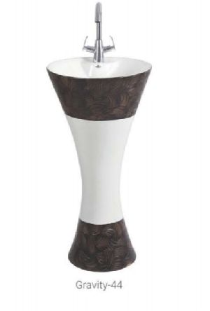Gravity 44 One Piece Pedestal Wash Basin