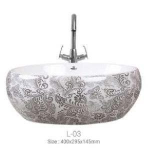 L-03 Designer Table Top Wash Basin