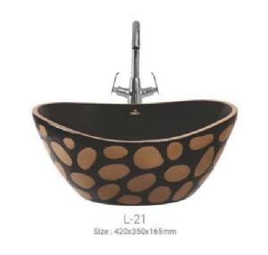 L-21 Designer Table Top Wash Basin