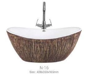 N-16 Designer Table Top Wash Basin
