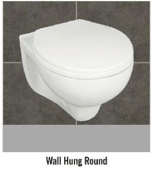 Round Wall Hung Water Closet