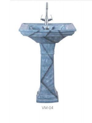 VM-04 Vintage Pedestal Wash Basin