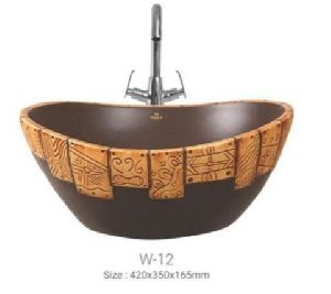 W-12 Designer Table Top Wash Basin