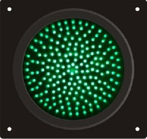 Green Solar Traffic Signal Lights