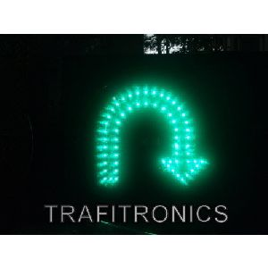 LED U Turn Arrow Lights
