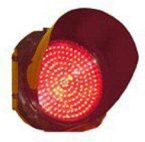 Red LED Traffic Signal Lights