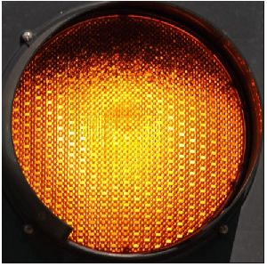 Yellow LED Traffic Signal Lights
