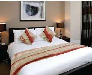 BR 002 Double Bed Runner & Cushion Cover Set