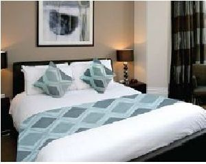 BR 004 Double Bed Runner & Cushion Cover Set