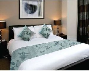 BR 006 Double Bed Runner & Cushion Cover Set