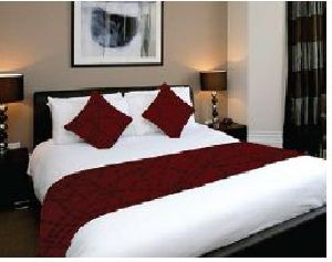 BR 009 Double Bed Runner & Cushion Cover Set