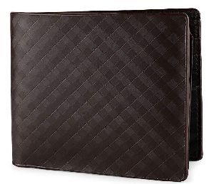 Mens Italian Leather Black Wallet
