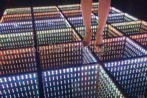 LED Glass Floor Light