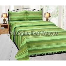 Handloom Cotton Single Bed Sheets