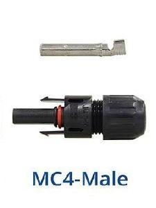 Male MC4 Solar Panel Connector