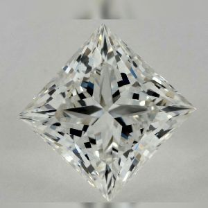 princess cut moissanite stones