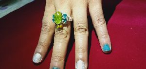 Sterling Silver Gemstone Ring