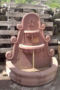 3.5 Feet Sandstone Fountain