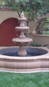 6 Feet Sandstone Fountain