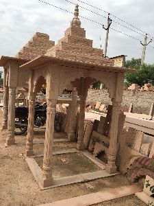 7 Feet Sandstone Temple