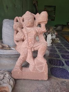 Sandstone Hanuman Statue