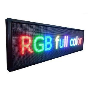 Scrolling LED Display Board