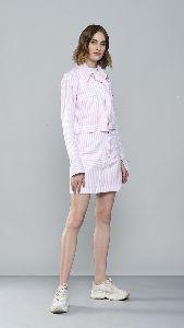 Crop Shirt and Skirt