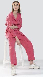 Pink Pantsuit