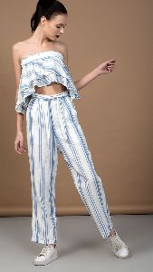 Striped Tube Top and Pant