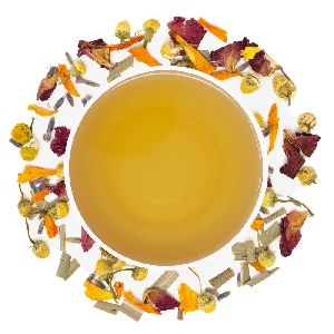 Calming Floral Herbal Tea