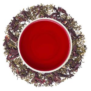 Hibiscus Bliss Green Tea