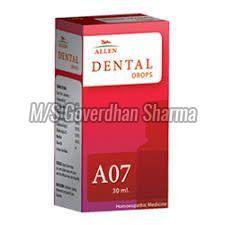 Allen A07 Dental Drop