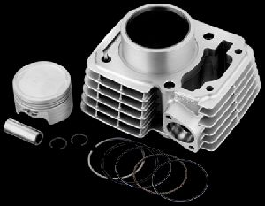 TVS King Auto Rickshaw Cylinder Block & Piston Kit