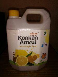 Konkan Amrut Lemon Ginger Syrup