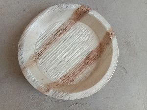5.5 Inch Areca Leaf Round Plate