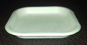 5 Inch Areca Leaf Square Plate