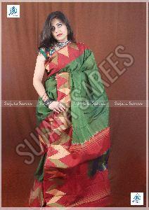 Ikkat Silk Sarees