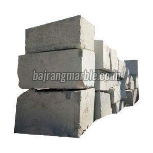 Greyish White Marble Blocks