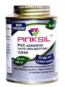 B-61 Pinksil PVC Solvent Cement 250ML